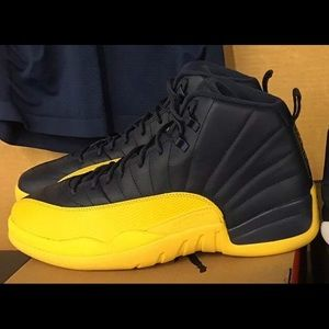 best website ce037 2d884 Air Jordan 12s yellow and black NWT